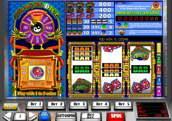 Dice Dragon Slot Machine - Free Online eGaming Slots Game