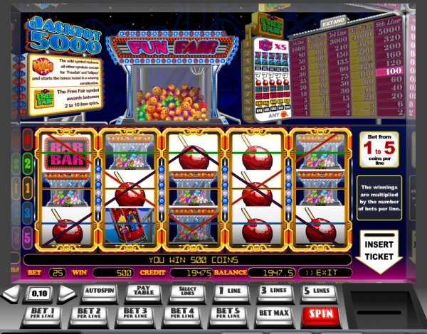 free casino slot games online for fun