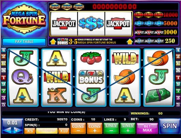 canadian online casino mega fortune