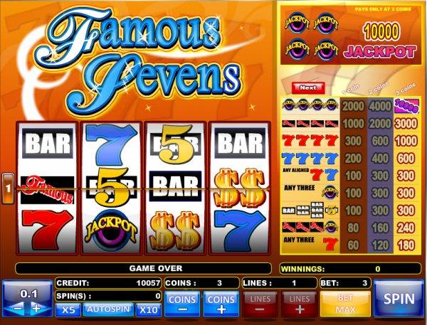 Famous Slots