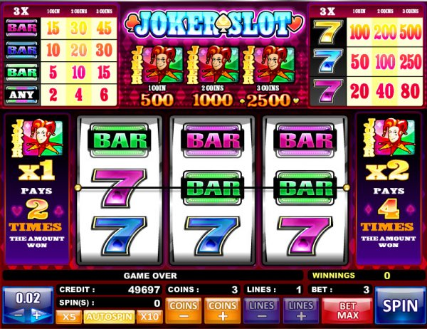 slot games online for free poker joker