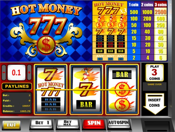 online casino guide sizling hot