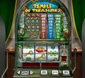 Snapshot from Temple of Treasure reel slot machine