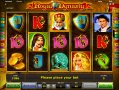 Royal Dynasty Slots Game Reels