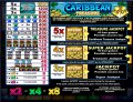 Caribbean Treasure Slots Pay Table