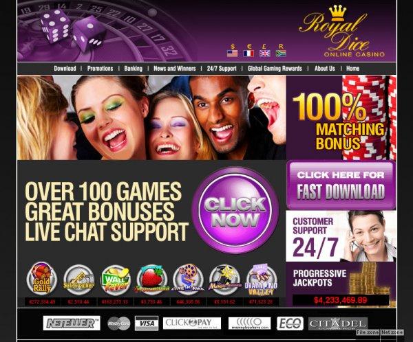 Royal dice casino free casino